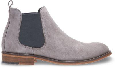 jean chelsea boot, grey suede, dynamic ... GORMALH