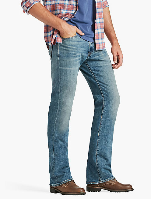 jeans for men lucky 427 athletic boot jean ILRGKMH