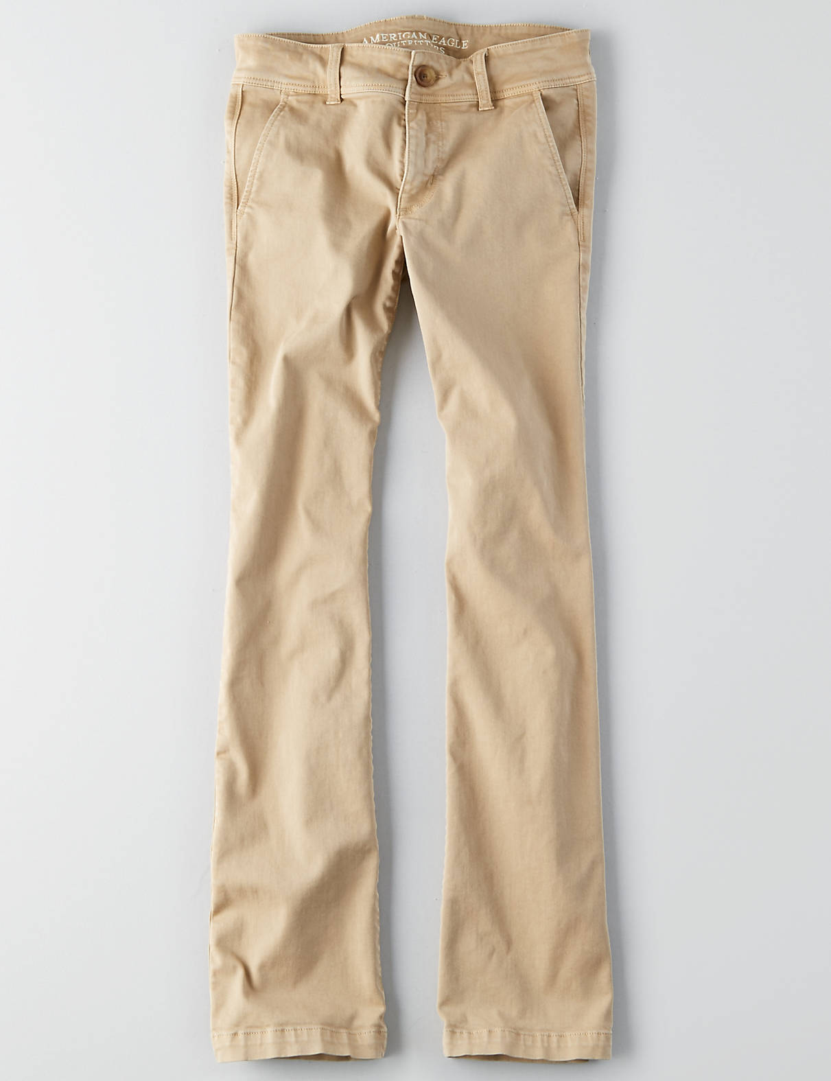 khaki pants for women display product reviews for aeo denim x kick boot pant NOFXOJR