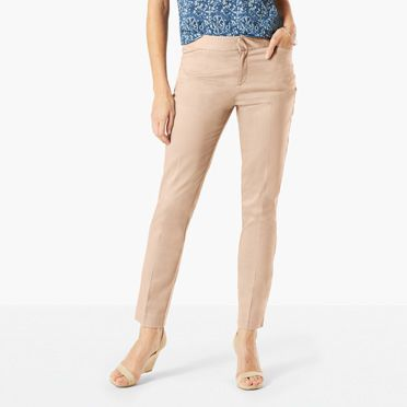 khaki pants for women quick view GNUXBXS