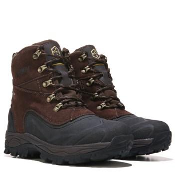 khombu boots khombu ryder waterproof boot brown QJGKSDU