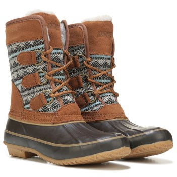 khombu boots khombu womenu0027s aria weather resistant duck boot HTLJZVS