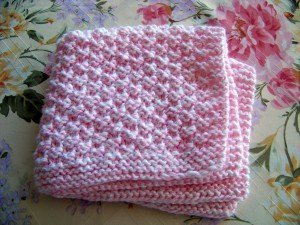 knit baby blanket box stitch baby blanket LTJTUIM