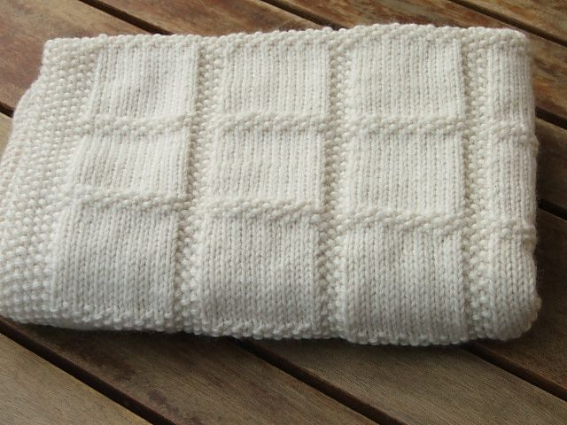 knit baby blanket pdf baby knitting pattern babies first blanket от naturalstar GWSWVMR