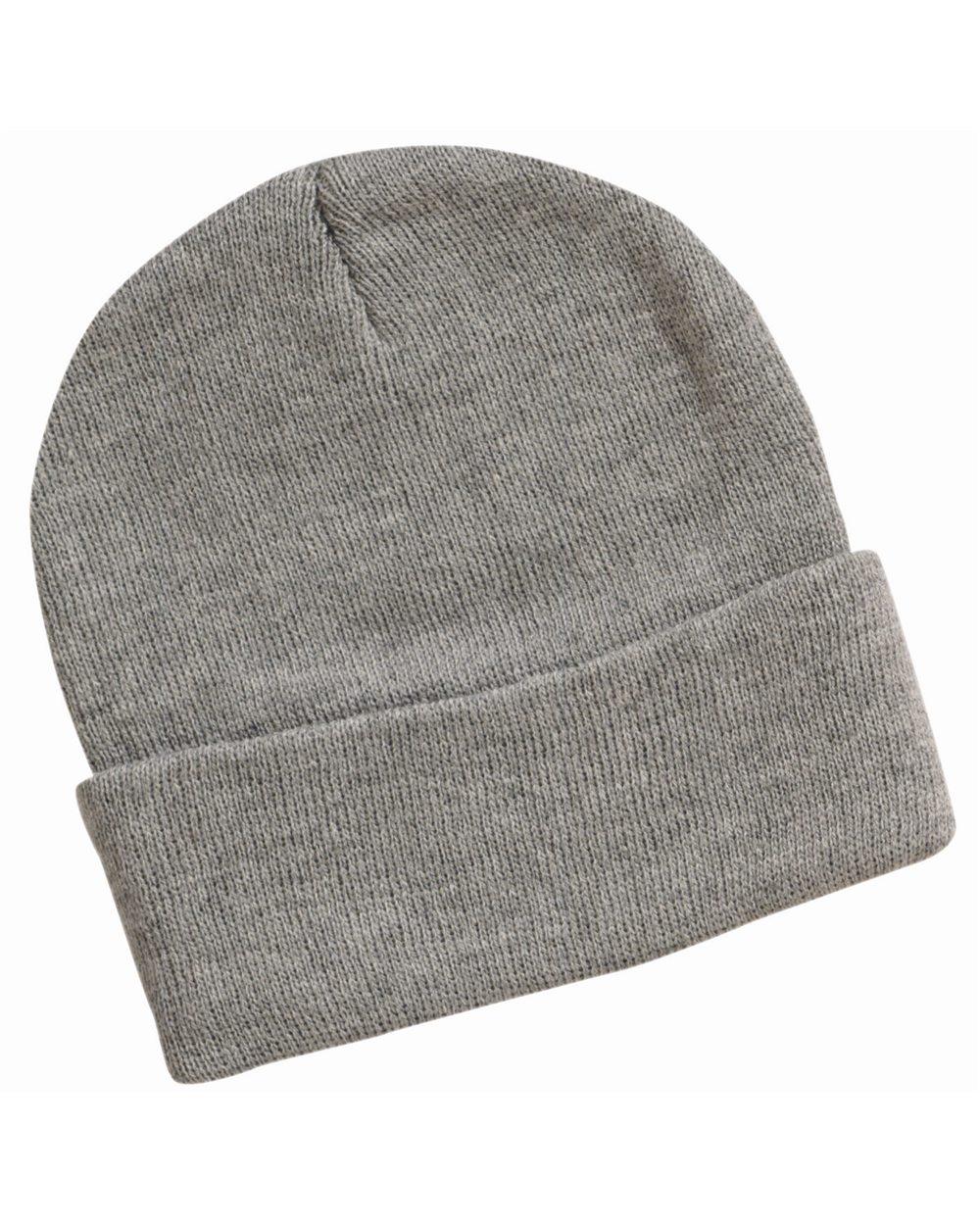 knit beanie model shot IUJNWNV