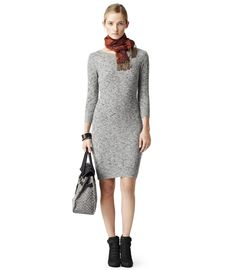 knit dress reiss moon soft grey knitted dress VCWSGZS