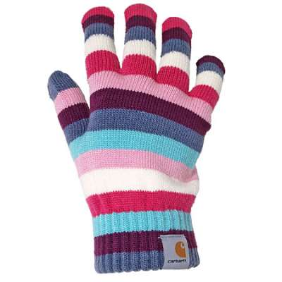 knit gloves carhartt gloves wa555multi womenu0027s candy knit GMVNHTK