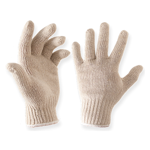 knit gloves knit cotton hot bbq gloves KKPPGWA