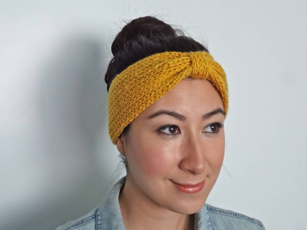 Knit Headband Pattern Free Knit Bowtie Headband Pattern Pyaitdj