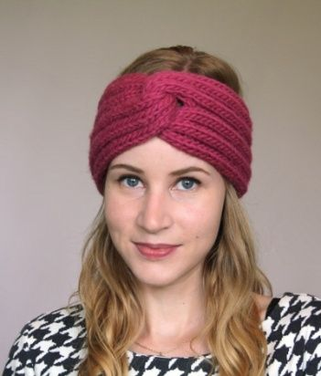 knit headband pattern free knitted headband patterns | omg! heart » free knitting patterns HQKQUWR