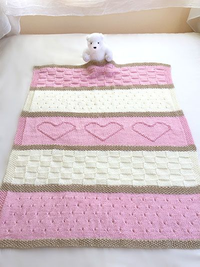 Baby Cot Blanket Knitting Pattern Images Knitting Patterns Free