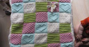 knitted baby blankets modern knitted baby blanket JWSPXWG