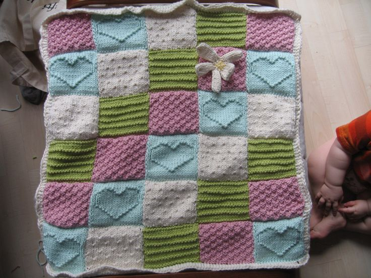 Give Your Baby The Best Knitted Baby Blankets In The Market