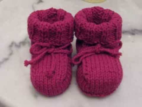 knitted baby booties easy baby booties knitting BKMSWFH
