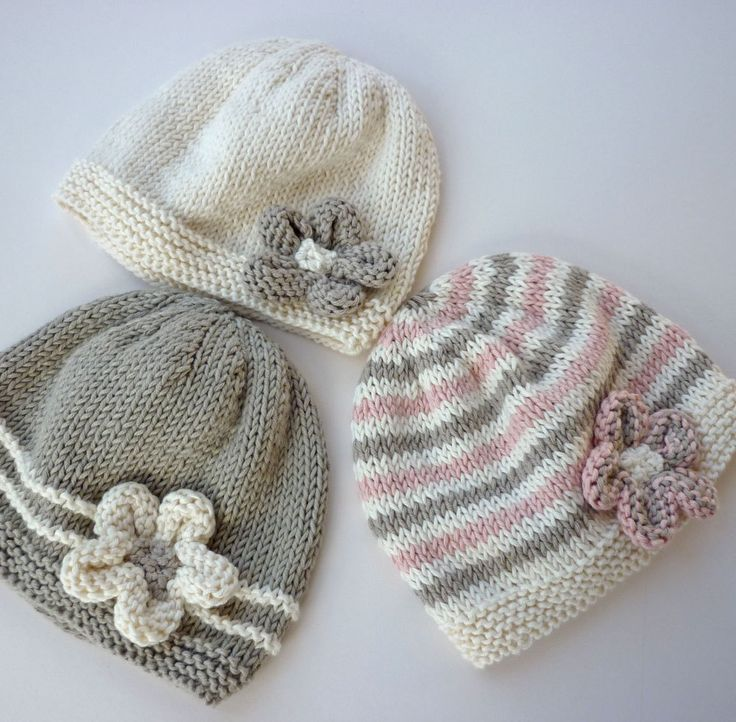 knitted baby hats baby hat knitting pattern pdf emilie instant download. $4.00, via etsy. MIKPOOC