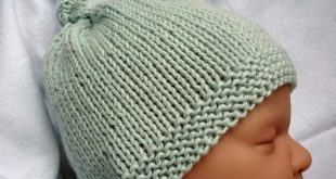 knitted baby hats baby knitting patterns mack and mabel: free knitting pattern baby hat with  top knotu2026 SMDQKNT