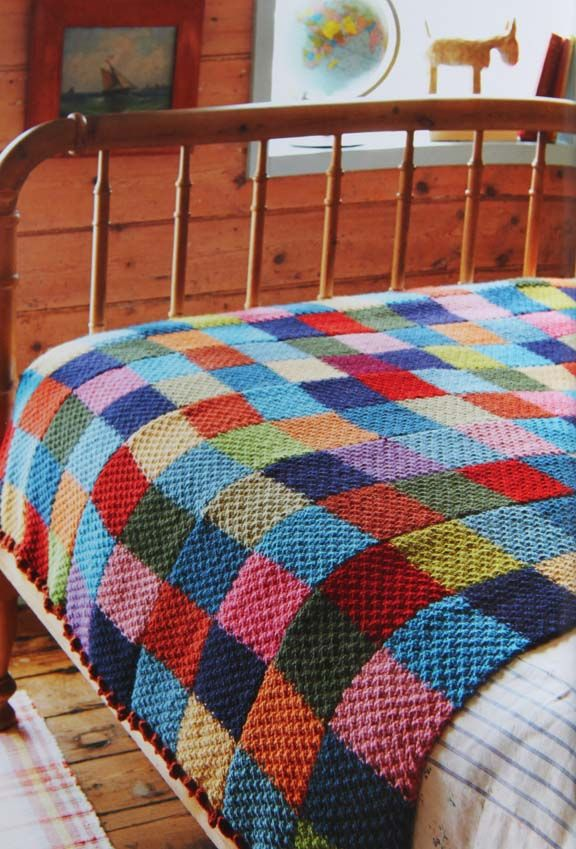 knitted blanket great idea:  BKOURYV