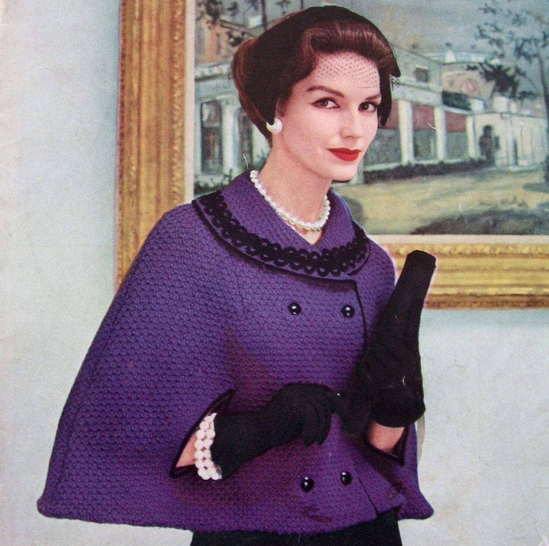 knitted cape 🔎zoom HAZKJAU