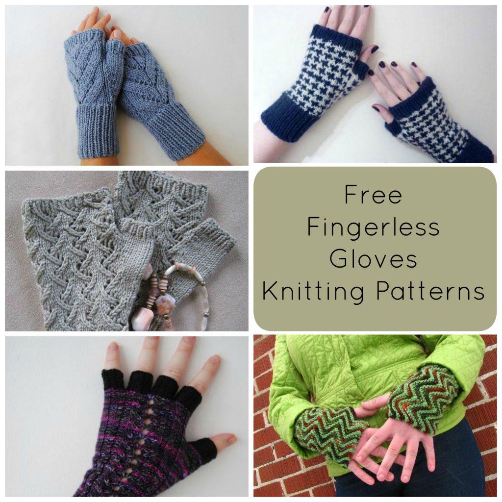 Knitted Fingerless Gloves Free Fingerless Gloves Knitting Patterns
