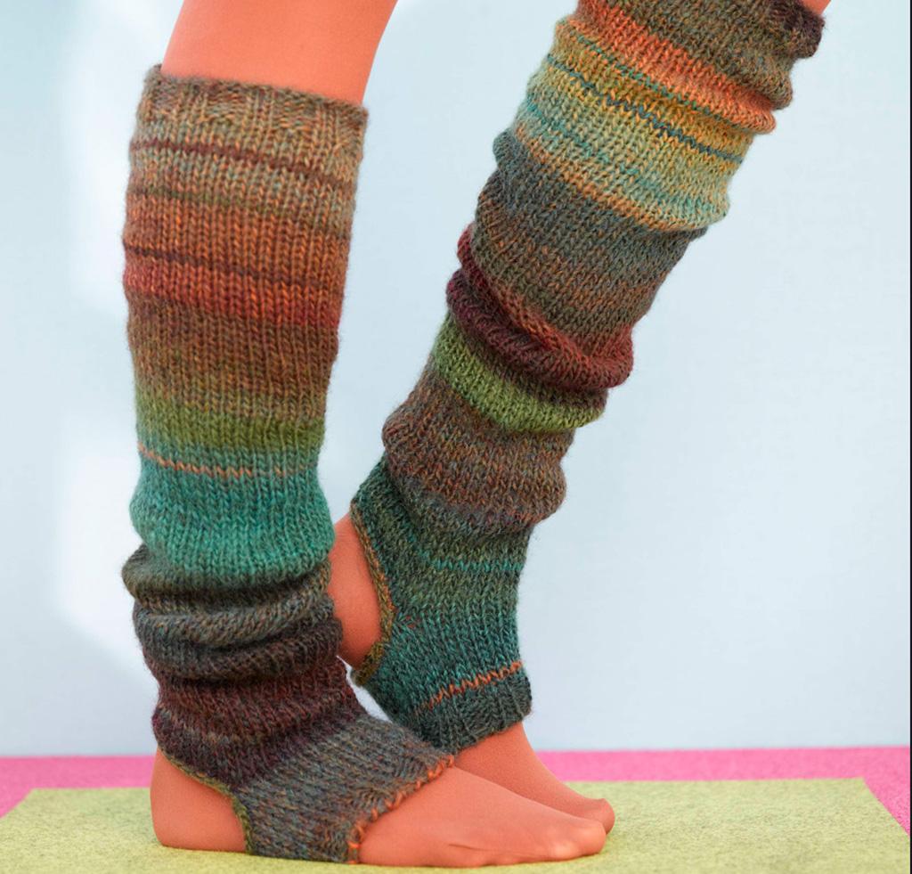 Knitted Leg Warmers leg warmer knitting kits FICCMSW