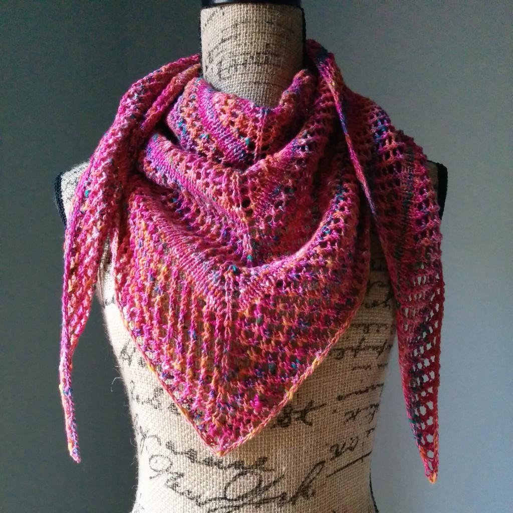 knitted shawl casual lace knit shawl - purl avenue VGEWJXR