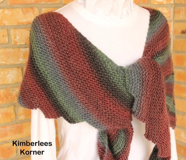 knitted shawl patterns asymmetrical wrap. kimberlees korneru0027s easy shawl is knit ... OYSWLQM