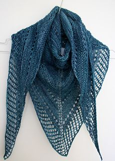 knitted shawl patterns easy lace knitting pattern. to learn lace knitting, go to http:// MMULCMS