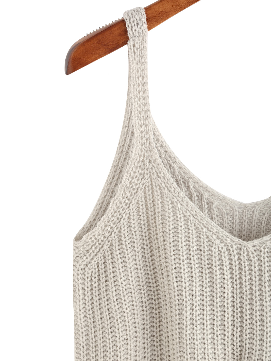 knitted tank top knitted crop tank top -shein(sheinside) DBGPLWE