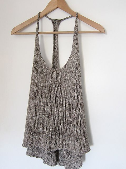knitted tank top ravelry: villeneuve pattern by espace tricot. DGLRAEZ