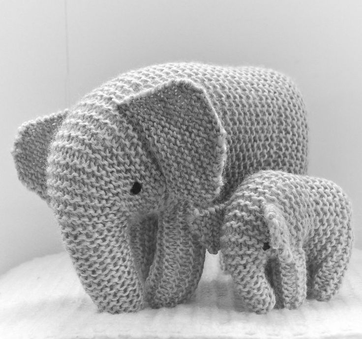 Knitting Ideas free knitting pattern for oliphaunt elephant toy - this elephant toy is knit  in CKDBHZA