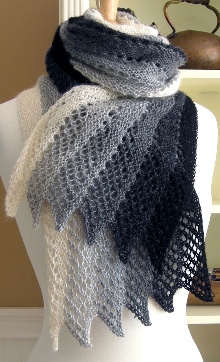 Knitting Ideas knitting pattern mistral scarf - #ad lace scarf that designer rates as easy  to TNQAMGT