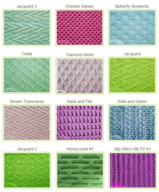 What You Need To Know About Knitting Stitches Fashionarrow