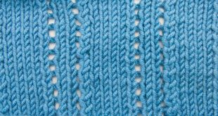 knitting stitches the ploughed acre lace stitch :: knitting stitch #523 ABKDNPX
