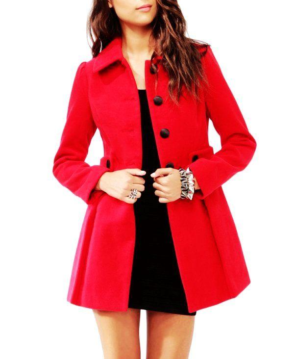 ladies coats cute red ladies winter coats - red ladies winter coats NUNAEVH