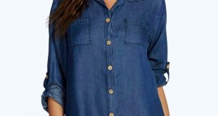 lara denim shirt dress. hover to zoom NJGJSTG