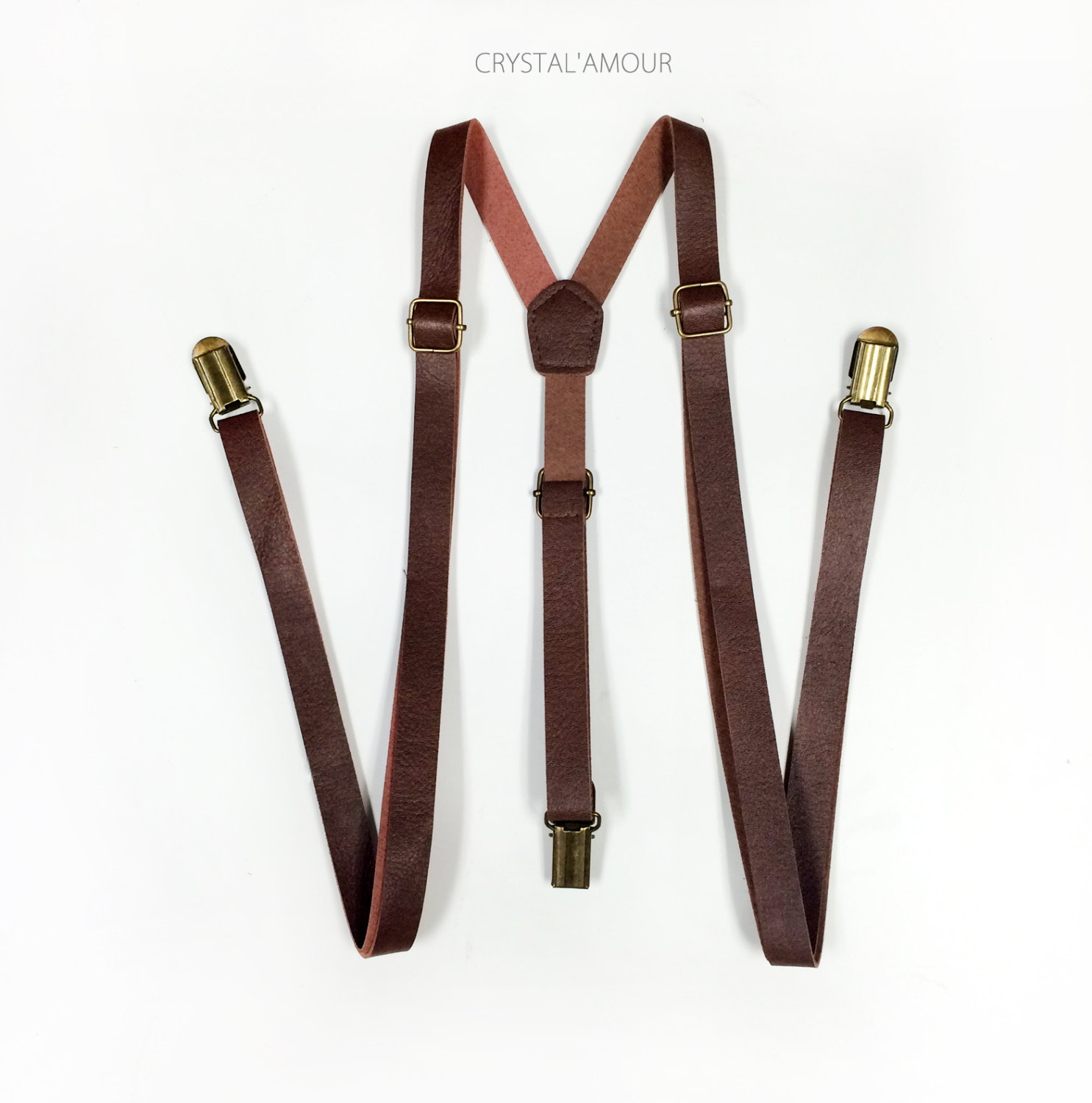leather suspenders 🔎zoom RHZEBOR