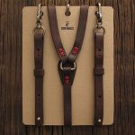 How to choose the leather suspenders