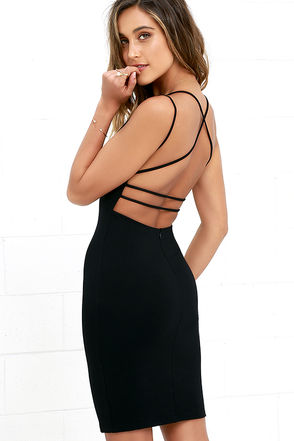 little black dress be-all trend-all backless black midi dress 1 BZZIXAL