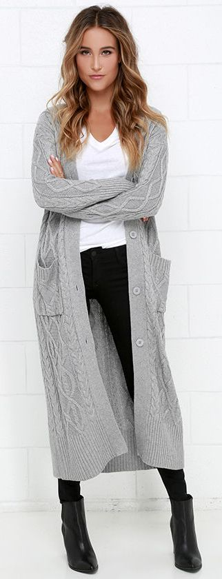 long sweaters at great length grey long cardigan sweater ANMVFHM
