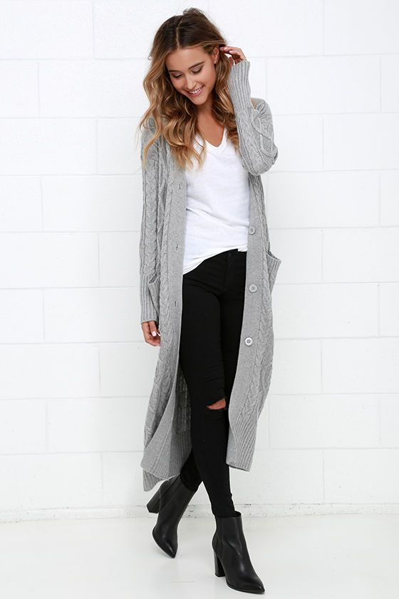 long sweaters at great length grey long cardigan sweater IKXKCNG