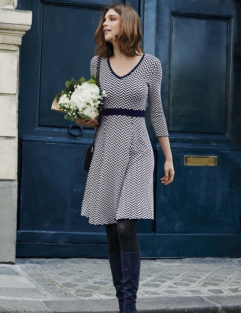 lucinda knitted dress PUVJWEG