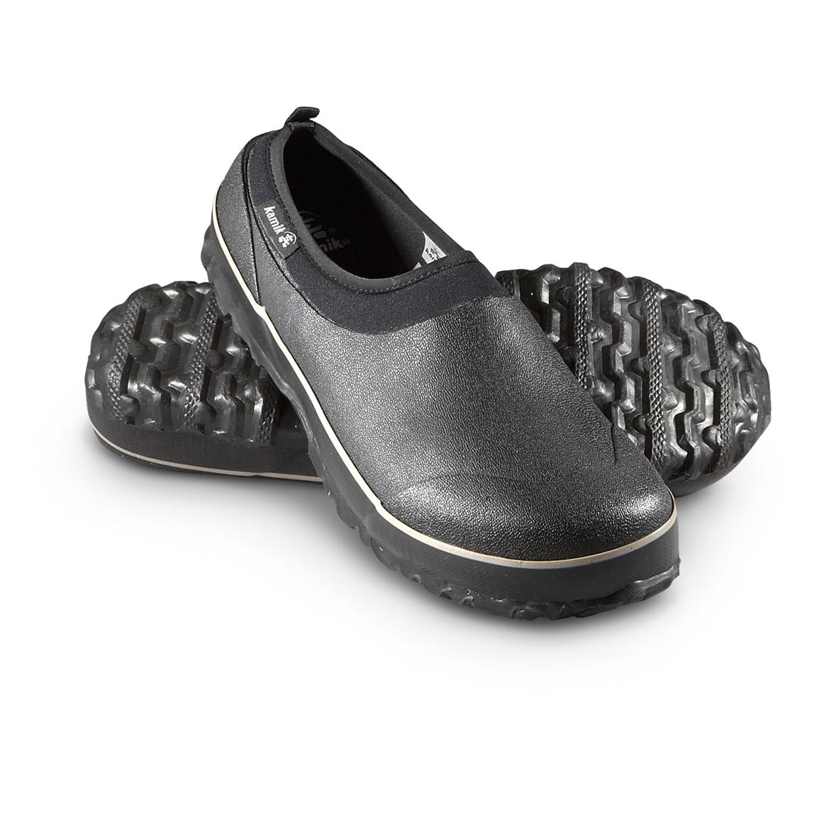 menu0027s kamik® emerson waterproof shoes, black CEKROIU
