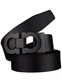 mens belts menu0027s smooth leather buckle belt ... NBMNHGD