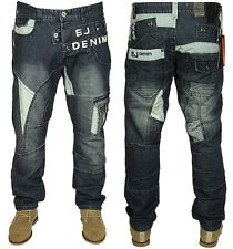 mens brand new eto jeans latest tapered fit in stone wash colour 28-42 PDTNDJW