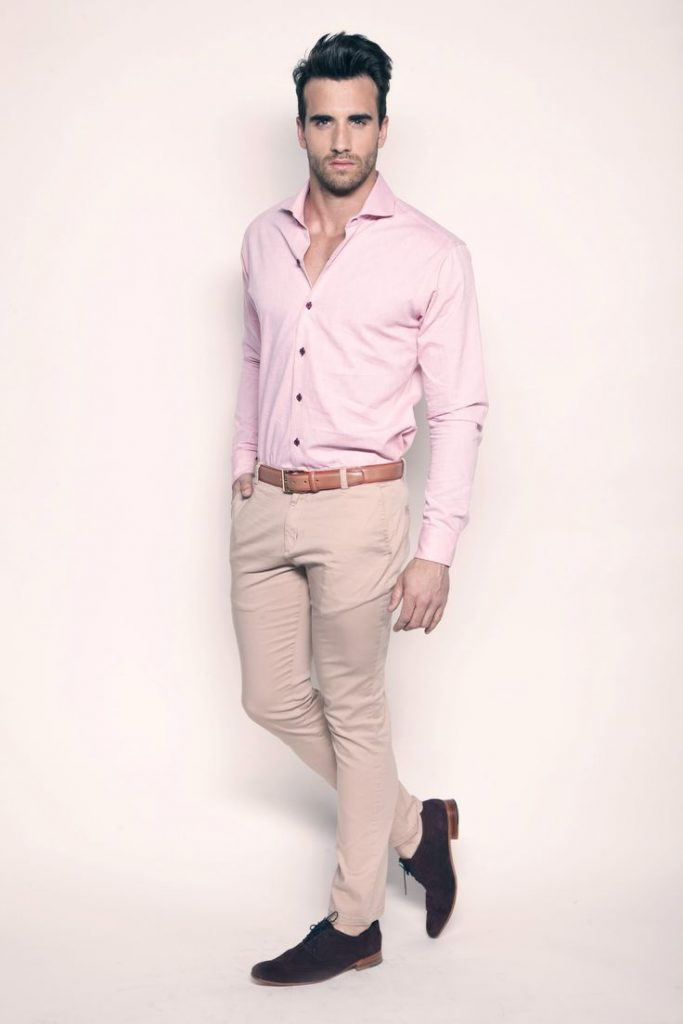 Mens Formal Wear Ss14 Contrasted Semi Formal Dress Shoes Gasdney