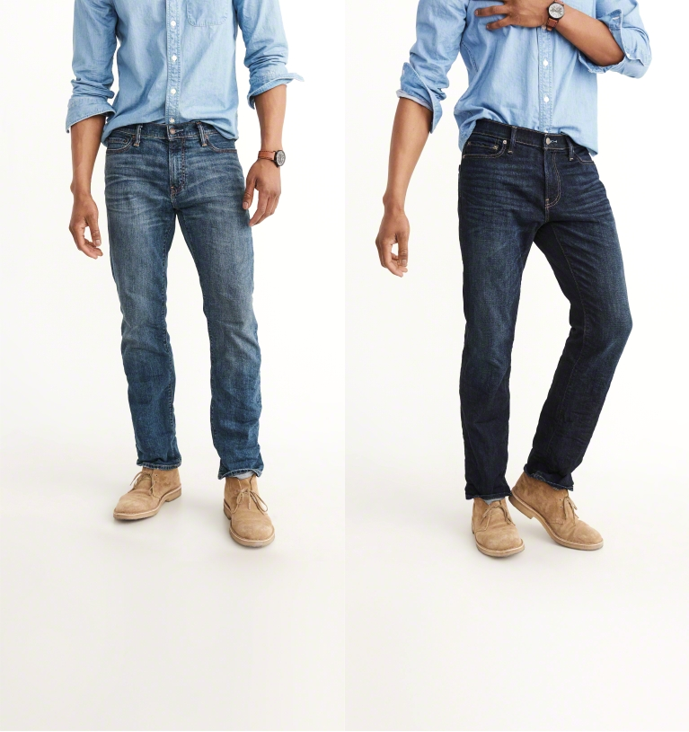 mens jeans straight fit that widens at the hem. bottoms. jeans MVFUSHJ