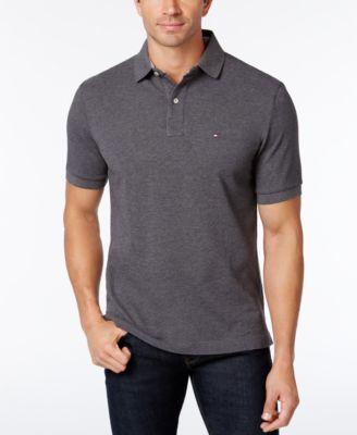 mens polo shirts tommy hilfiger menu0027s classic-fit ivy polo HEEALJX