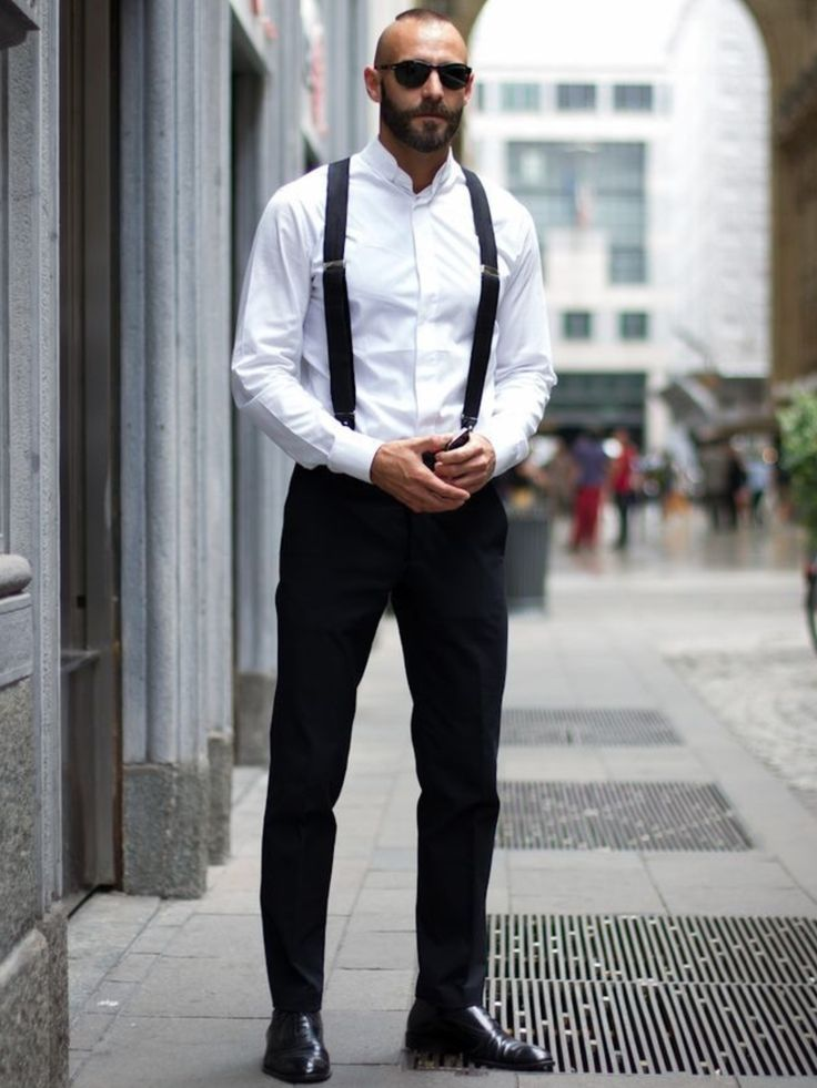 mens suspenders via via ZFKNHYU