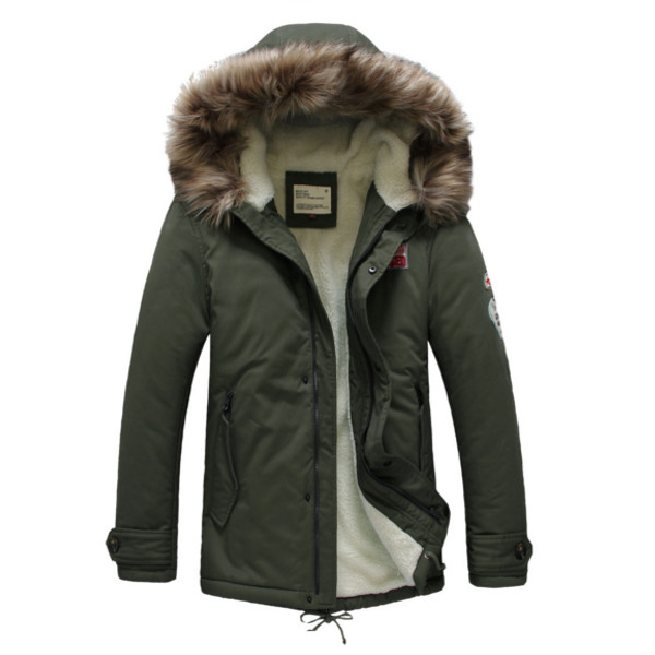 mens winter jackets mens warm cotton winter casual jacket upset coats LWXCTBA