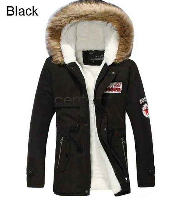mens winter jackets winter casual canada mens fur collar outwear coats military man jacket  winter jacket men BZNQGVI